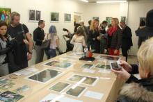 Foto z výstavy Alorie a Morgun