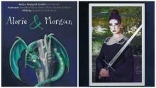 Pozvánka na výstavu Alorie a Morgun